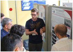 Poster sessions provided another opportunity for a discussion of the latest R&D results.
