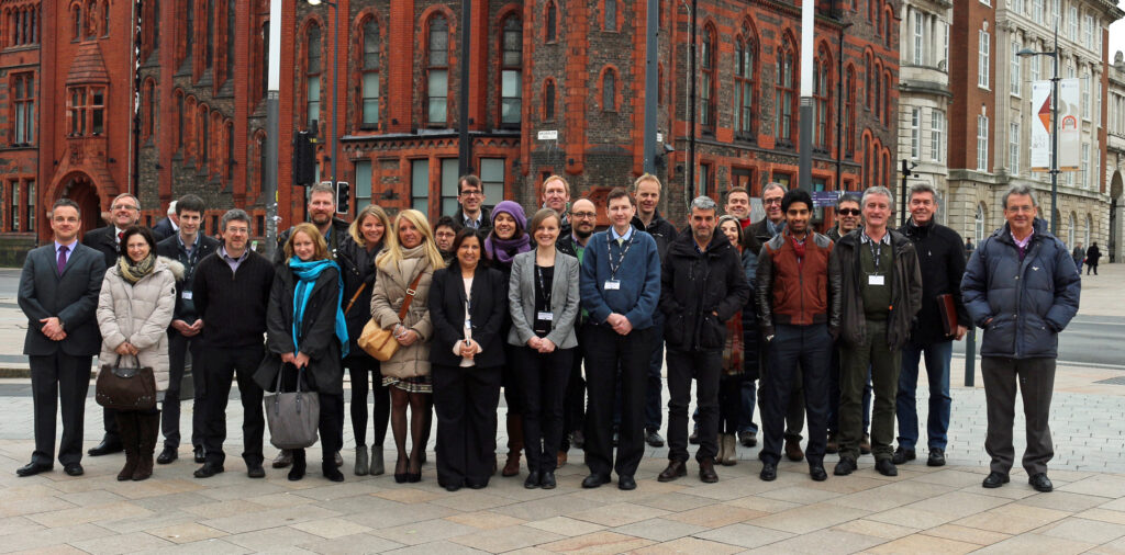 Participants at the OMA Kick-off Meeting in Liverpool, UK
