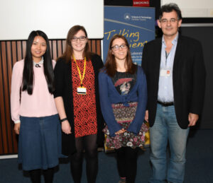 CI Director, Prof. Peter Ratoff and the prize winners