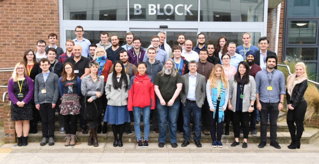Group photo for CI Postgraduate Conference 2017